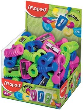 Maped slijper Boogy 1-gaats, geassorteerde kleuren