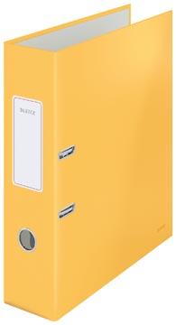 Leitz Cosy ordner met soft touch oppervlak, rug van 8 cm, geel