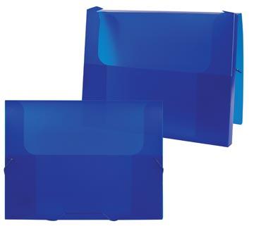 Beautone elastobox Frosted blauw