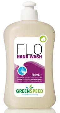 Greenspeed handzeep Flo, voor frequent gebruik, bloemenparfum, flacon van 500 ml