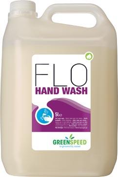 Greenspeed handzeep Flo, voor frequent gebruik, bloemenparfum, flacon van 5 liter