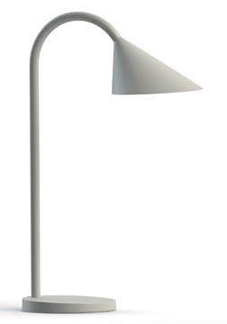 Unilux bureaulamp Sol, LED-lamp, wit