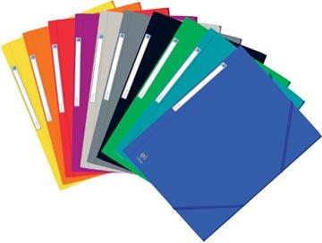 Elba Oxford Eurofolio elastomap, voor ft A4, geassorteerde kleuren
