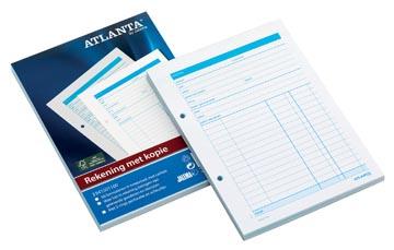 Atlanta by Jalema rekeningblokken ft A5, 1 vel carbon