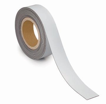 Maul magnetische etiketband, wisbaar, ft 10 m x 40 mm x 1 mm
