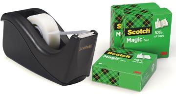 Scotch Plakbandafroller Two Tone Black