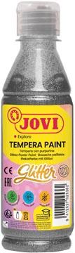 Jovi Plakkaatverf Glitter flacon van 250 ml, zilver