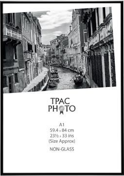 TPAC fotokader aluminium, zwart, ft A1