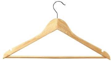 Unilux kledinghanger, uit hout, pak van 25 stuks