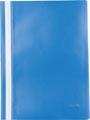 Pergamy snelhechtmap, ft A4, PP, pak van 5 stuks, donkerblauw